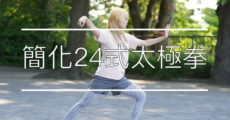 簡化24式太極拳 動作表