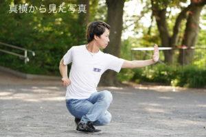 中国武術 歩型